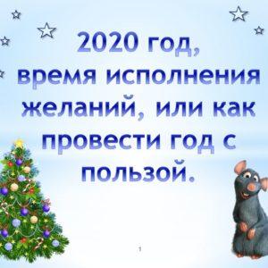 гороскоп 2020 год